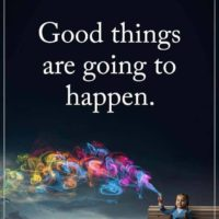 "Maart 2017 – ""Good things are going to happen"""